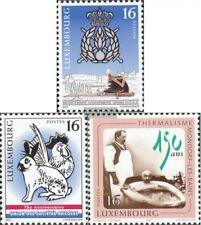 Luxemburg 1420-1422 (kompl.Ausg.) postfrisch 1997 Jahresereignisse