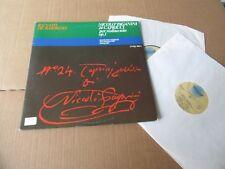 RENATO DE BARBIERI PAGANINI 24 CAPRICCI  2 LP SET FOREVER RECORDSPRIVATE ITALY