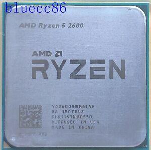 AMD Ryzen 5 2600 Six-Core 3.4-3.9 GHz 65W Socket AM4 CPU Processor