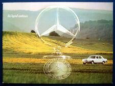 Prospekt brochure 1977 Mercedes Programm (USA)