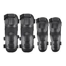 4pcs/set Elbow Knee Shin Armor Pads Guard Protector for Motorcycle Bike Racing