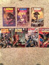 BATMAN VERSUS PREDATOR 1991-#1,1992-#2,3, PREDATOR II 1994 #1,2,3,4  VF+