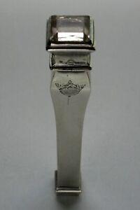 18th Silver Sealing Wax Case Etui - Gold Wire Monogram