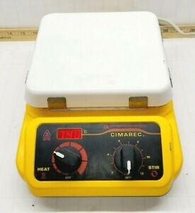"""BARNSTEAD THERMOLYNE MAGNETIC HOTPLATE STIRRER MIXER 7"""" X 7"""" TOP PLATE SP131325"""