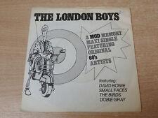 "The London Boys/1979 Decca 7"" Single/Bowie/Small Faces/The Birds/Dobie Gray"
