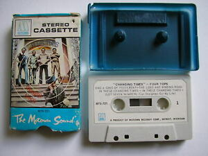 MC*MUSIKKASSETTE*TAPE* THE  FOUR TOPS  CHANGING TIMES*MOWTOWN*SOUL