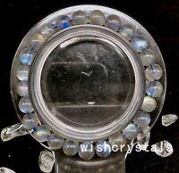 Natural crystal Labradorite Bracelet Wholesale High Quality reiki 1pc 8mm
