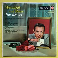Jim Reeves - Moonlight And Roses - Rca Mono RD-7639 Ex-Condition Vinyle LP