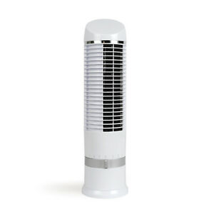 ventilateur de table colonne 41.5cm 25w blanc - livoo