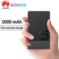 Original Ultra Thin Huawei Backup Battery 5000mAh Portable Charger Power Band
