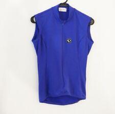 PEARL IZUMI Technical Wear Womens Full Zip Sleeveless Cycling Jersey w/Pocket, 6