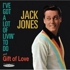 Jack Jones - I've Got a Lot of Livin to Do / Gift of Love [New CD]