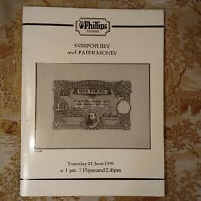 Scripophily and Paper Money Phillips 1990