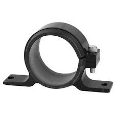 1pcs Racing Car Fuel Pump Clamp Kit Aluminum Black 60mm Adjustable with Insert