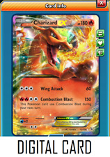 Pokemon TCG ONLINE Charizard EX 12/106 (DIGITAL CARD) Ultra Rare