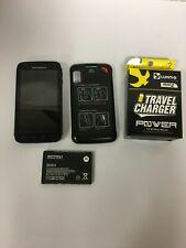 Original Black Motorola ATRIX 4G MB860 4.0 inches 5.0MP Camera Unlocked READ