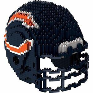 Chicago Bears NFL 3D BRXLZ Construction Toy Blocks Set - Helmet