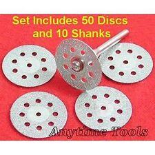 50 Diamond Cut-Off Wheels Lapidary Disc Saw fits Dremel