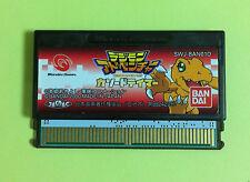 Digimon Adventure Cathode Tamer WonderSwan WS Wonder Swan JAPAN USED