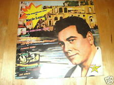 33 tours the magnificent voice of mario lanza