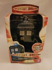 RARE DOCTOR WHO TARDIS PHONE FLASHER * BRAND NEW UNOPENED IN BOX * GIFT IDEA