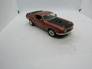 Johnny Lightning 1969 Mustang Mach 1 Car Free Shipping