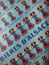 PUBLICITÉ 1958 BIERES D'ALSACE - ADVERTISING