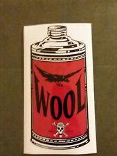 WOOL sticker Rare, Pete stahl,GOATSNAKE,