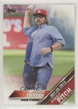 2016 Topps First Pitch Series 2 Jeff Tweedy #FP-6