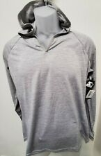 Mens , Sun protection hoodie Long sleeve Half Zip T-Shirt for Running