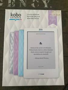 Kobo eReader Touch Edition in Lilac - BRAND NEW
