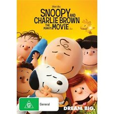 SNOOPY AND CHARLIE BROWN:The Peanut Movie-Region 4-New AND Sealed