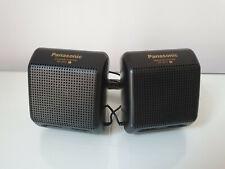 Panasonic Mini Speaker System RP-SP15 Retro For Cassette Walkman Player
