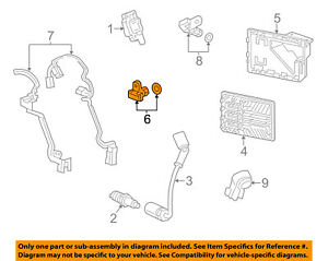 GM OEM-Engine Camshaft Cam Position Sensor 12623093