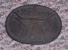 Marlboro Belt Buckle,1987, Solid Brass