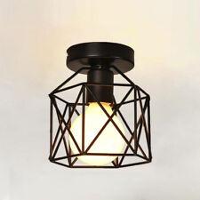 Pendel Industrie Leuchte Rot Lampe Aus Metall Vintage Retro Fabrik Loft Harmonische Farben Beleuchtung Möbel & Wohnen