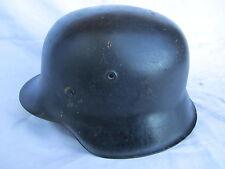 WH-LW-SS German helmet original shell M42 size ET66 + original rivets !