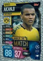 Topps match coronó extra Champions League 19//20 le 2g Limited Edition sadio mane