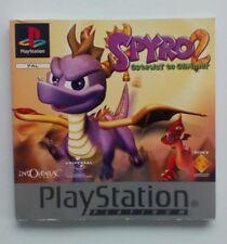 * Instrucciones Solamente * Spyro 2 manual de instrucciones PS1 Psone Playstation