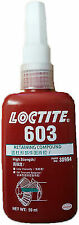 LOCTITE 603 HIGH STRENGTH - RETAINING COMPOUND - METAL ADHESIVE  GLUE 50 ML