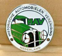 vintage classic car badge  AA RAC BP Netherlands auto club automobilia