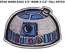 R2D2 STARWARS STAR WARS EMBROIDERY IRON ON PATCH BADGE US SELLER