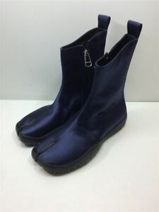 Maison Margiela Authentic S58WU0155 Tabi Boots Navy EU 38 Used from Japan