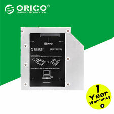"ORICO Aluminum 2.5"" Internal SSD 9.5mm Hard Disk Caddy Tray Enclosure for Laptop"