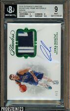 2018-19 Flawless Prime Green #31 Luka Doncic RC RPA 3-Color Patch AUTO 4/5 BGS 9