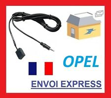 Cable aux Auxiliaire Adaptateur Mp3 Opel Meriva de 2005 Cd30/cd30 iPhone iPod