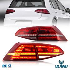 VLAND LED Feu arrière pour VW Golf 7 Golf7 MK7 VII R20 2013-2016 Feux Arrières