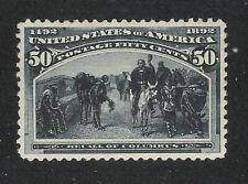 U.S. Scott 240 Columbian Exposition 50c og, MNH
