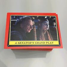Topps Star Wars Rogue One Mission Briefing on HERITAGE STOCK 100 Card Common Set
