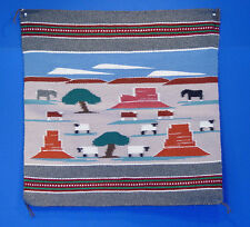 Navajo Rug Reservation Pictorial by Bertha Chee c.1980